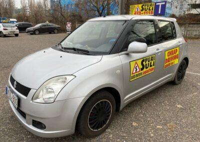 Suzuki Swift spuri-suli autósiskola Budapest