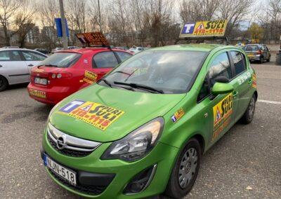 Opel Corsa spuri-suli autósiskola Budapest